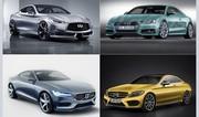 Audi A5, Mercedes Classe C, Infiniti Q60 : les futurs coupés premium