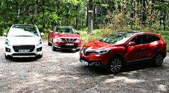 Essai : Le Renault Kadjar face à ses rivaux Peugeot 3008 et Nissan Qashqai