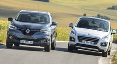 Essai Renault Kadjar vs Peugeot 3008 : des hauts et débat