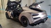 Icona Vulcano Titanium : une supercar chinoise en titane à Pebble Beach