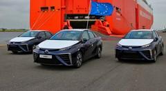 La voiture du futur débarque à Zeebruges