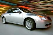 Nissan Altima coupé, on voudrait le voir ici, et on