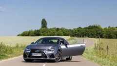 Essai Lexus RC-F : Ghost in the shell