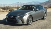 Lexus renouvelle la berline GS