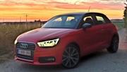 Essai Audi A1 1.0 TFSi : Trois pots pour la petite Belge