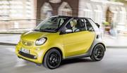 Smart Fortwo cabrio officialisée : de l'air
