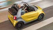 Smart ForTwo cabrio : découvrable et décapotable à la fois