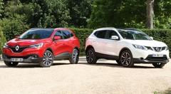 Essai Nissan Qashqai vs Renault Kadjar : Les frères ennemis