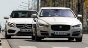 Essai comparatif : la Jaguar XE 2015 défie la Mercedes Classe C !