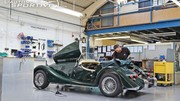 Reportage : Morgan Cars factory tour