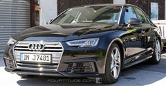 Audi S4 (2015) : premières photos sans camouflage