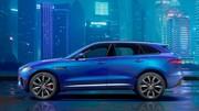Teaser Jaguar F-Pace : Mise en appétit
