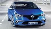 Les photos officielles de la Renault Megane GT en avance !