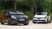 Match Peugeot 208 GTI by Peugeot Sport vs Renault Clio RS Trophy : Combat de coqs
