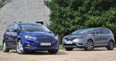 Essai Renault Espace et Ford S-Max : pratiques et chics