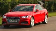 Essai : Audi A4 V (2015) : Confortables anneaux :
