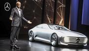 Mercedes IAA Concept : la future CLS en filigrane ?
