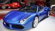 Ferrari 488 Spider : la diva dévoile son prix