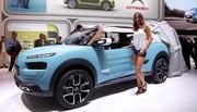 Le Citroën Cactus M Concept déploie sa tente au salon de Francfort