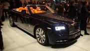 Rolls-Royce Dawn : la Rolls Wraith se découvre au salon de Francfort