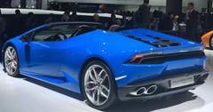 Lamborghini Huracan Spyder : le taureau à découvert