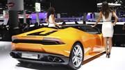 Lamborghini Huracan Spyder : 610 ch dans le roadster Lambo