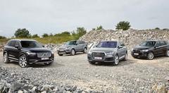 Essai : L'Audi Q7 et le Volvo XC90 face à leurs rivaux