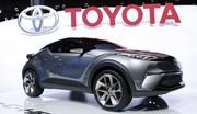 Toyota C-HR concept : entre Captur et Qashqai