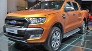 Ford Ranger restylé : plus viril et technophile