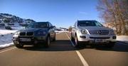 Essai BMW X5 Vs Mercedes ML : Choc frontal entre deux SUV très physiques !