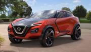 Nissan Gripz Concept : crossover urbain de sport !