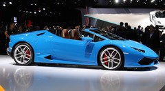 Lamborghini Huracan LP610-4 Spyder : décoiffante