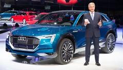 L'Audi e-tron quattro concept sous les projecteurs