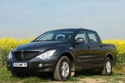 Essai Ssangyong Actyon Sports : objectif loisirs