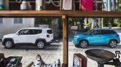 Essai Jeep Renegade 1.6 Multijet 120 vs Suzuki Vitara 1.6 DDiS : Un village français