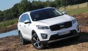 Essai Kia Sorento 2,2l CRDi 200 BVA : un SUV familial visant le premium
