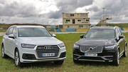 Essai Audi Q7 II vs Volvo XC90 II : Le luxe par 7