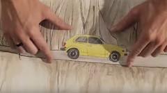 Animation : Honda présente sa rétrospective avec des petits papiers