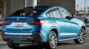 BMW : le X4 M40i en fuite