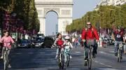 Paris a organisé sa première journée sans voiture