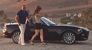 La future Fiat 124 Spider surprise en tournage
