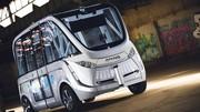 Navya Arma (2015) : la navette électrique et autonome française