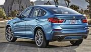 BMW officialise le X4 M40i