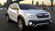 Subaru Viziv Future Concept : des caméras et des radars