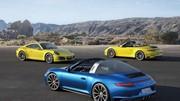 Porsche 911 (991) Targa 4 et Carrera 4 restylées