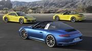 Porsche 911 Targa et Carrera 4 2016 : Turbo pour tous