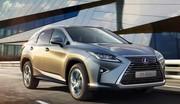 Les tarifs du nouveau Lexus RX 450h à partir de 64 900 euros