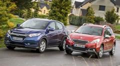 Essai comparatif : le Honda HR-V 2015 défie le Peugeot 2008 !