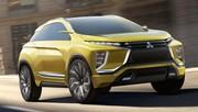 Mitsubishi eX Concept : Enfant du divorce
