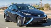 Les spécifications européennes de la Toyota Mirai au plein d'hydrogène